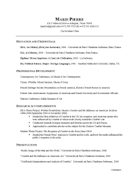 ... Researcher CV Example Cv examples and Resume examples - artist resume  samples ...