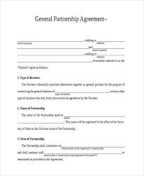49 Examples Of Partnership Agreements Examples