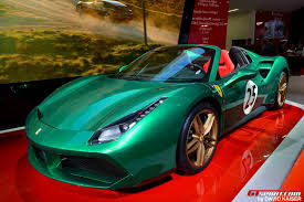 2018 ferrari 488 spider price. Beautiful Spider Paris 2016 Ferrari 488 Spider The Green Jewel Gtspirit With 2018  Price In Ferrari Spider Price R