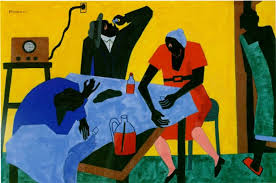this painting is by what famous harlem renaissance painter