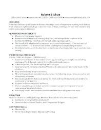 How To Make A Resume For Nanny Job Baby Sitter Resume Resume For