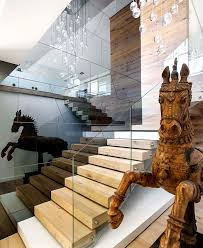 artistic wood pieces design. Artistic Wood Pieces Design. Contemporary Staircaseartisticelementscombinedtrendydesignerpieces For Design