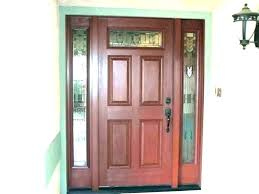 replacing glass in doors entry door with front sidelights and transom cost to elegant replacing replacement