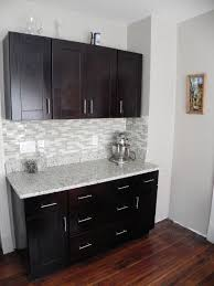 cabinet handles for dark wood. Bar Area With Our Mocha Shaker Cabinets And Handle Pulls Cabinet Handles For Dark Wood