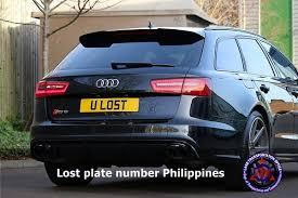 lost plate number lto philippines step