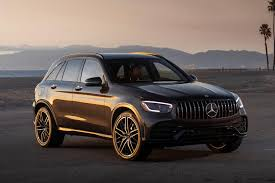 So previously the 2020 mercedes amg glc 43 had the diamond fascia, now it's got almost the same face as the 63 amg. 2020 Mercedes Amg Glc 43 Suv Review Trims Specs Price New Interior Features Exterior Design And Specifications Carbuzz