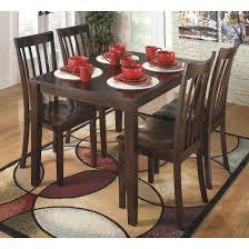 ashley dining room table set. hyland rectangular dining room table set wood/reddish brown - signature design by ashley i