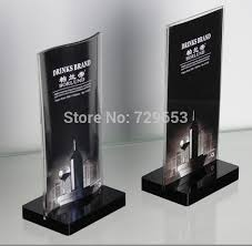 Trophy Display Stand Inspiration Black Base Acrylic Magnetic Desktop Table Display Stand Price Tag