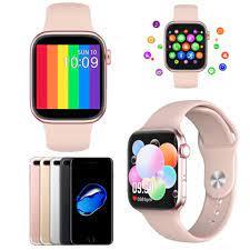 Apple iPhone 7 Plus Uyumlu Ateş Ölçer Akıllı Saat Pembe Türkçe Di Fiyatları  ve Özellikleri