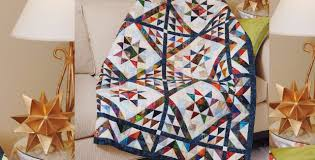 Batik Fabric Scraps Turns Into A Beautiful Scrappy Triangles Quilt ... & batik-fabric-idea-for-triangles-quilt-pattern Adamdwight.com
