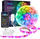 Govee Dreamcolor 16.4ft/5M RGB LED Strip Lights with Alexa,