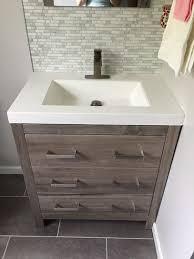 Bathroom Vanities Bay Area Extraordinary Glacier Bay Woodbrook 484848 In W Bath Vanity In White Washed Oak