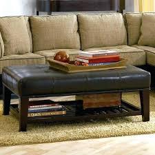 round white leather ottoman white leather ottoman coffee table furniture coffee table fabulous square leather ottoman
