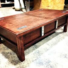 storage coffee table with large plans designs mod