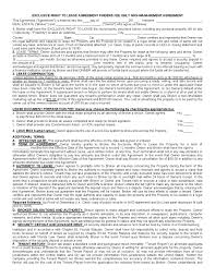 Free Florida Rental Lease Agreement Form | Pdf Template | Form Download
