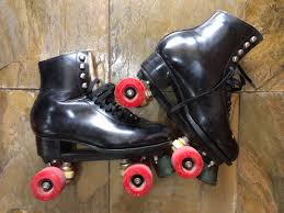 old school classic full leather roller skates uk 9 sports sports equipment on carou
