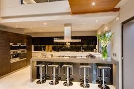Small Kitchen Counter Lamps Kitchen Using Cushioned Kitchen Chairs To Decorate The Room