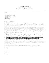 Cover Letter Template Examples Sample Professional Letter Formats