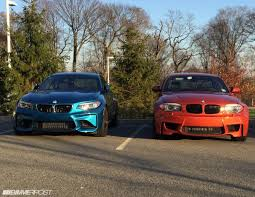 Coupe Series bmw 1 m : pictures of the M2 next to my 1M