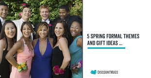 5 Spring Formal Themes And A Few Gift Ideas