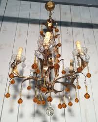 french iron chandelier 1960s 5