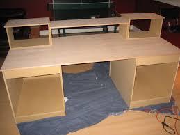 inspiring design wood computer desk plans full size