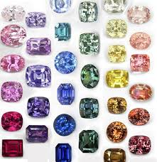 Sapphire Color Chart The Sapphire And Its Range Of Colors Pierres De Julie
