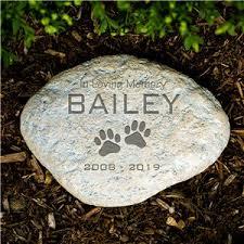 end pet memorial garden stone sympathy gift ideas