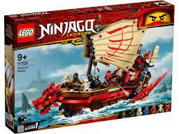 SOLDES - 4% LEGO® NINJAGO® 71705 Le QG des ninjas pas cher
