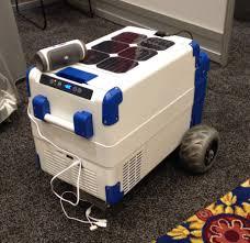 Solar Power Cooler Solarcooler The Worlds First Solar Powered Refrigerating Cooler