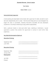 Free Printable Job Resume Templates Blank Job Resume Blank Resume