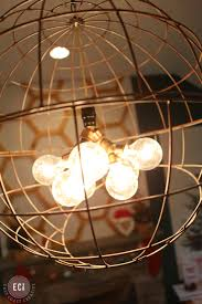 Diy Light Fixtures Diy Modern Pendant Light East Coast Creative Blog