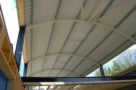 curved corrugated metal roofing 16 with curved corrugated metal roofing
