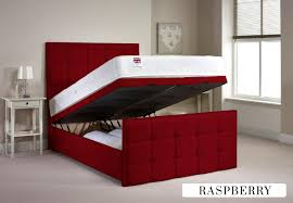 Ottoman Bedroom Furniture Aspire Furniture Aston 4ft 6 Double Fabric Ottoman Bed