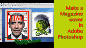 Photoshop Made Easy Make A Magazine Cover Youtube