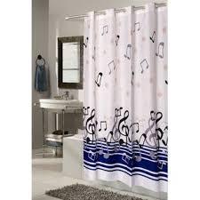 Delane Music Note Shower Curtain