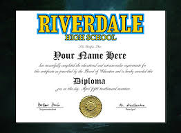 pieces of riverdale merch that are worth murdering someone  10 high school diploma
