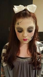 ed porcelain doll makeup