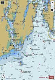 Kennebec And Sheepscot River Entrances Me Marine Chart