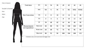 Size Chart Tgh Fashion