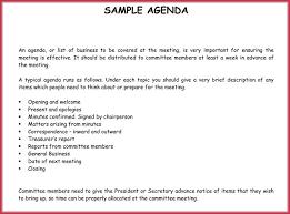 Free Agenda Templates Picture Simple Agenda Template 19