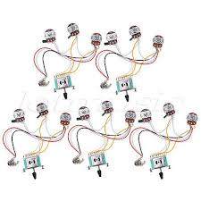 electric guitar wiring harness prewired kit for strat parts 5 way electric guitar wiring harness kit for strat parts 5 way 500k pots 2t1v 5 pcs