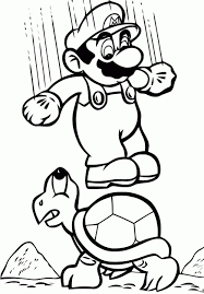 Coloriage Super Mario Coloriages Pour Enfants Tout Coloriage De