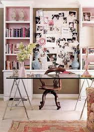 Office Room: 17 Pink Computer Desk For Girl - Furniture