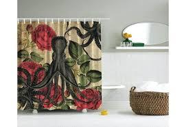 octopus shower curtain uk thomas paul hooks