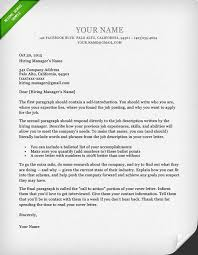 Cover Letter For Resume Unique 28 BattleTested Cover Letter Templates For MS Word Resume Genius