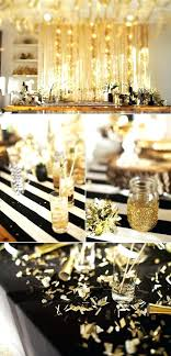 black white and gold party decorations ations decor supplies
