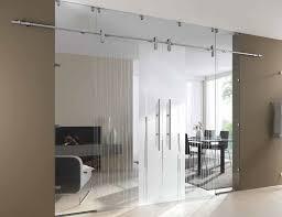 glass sliding doors partition wall internal door