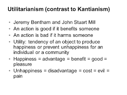 Utilitarianism bentham mill