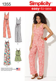 Jumpsuit Pattern Enchanting Simplicity 48 Misses' Maxi Dress And Long Or Short Jumpsuit